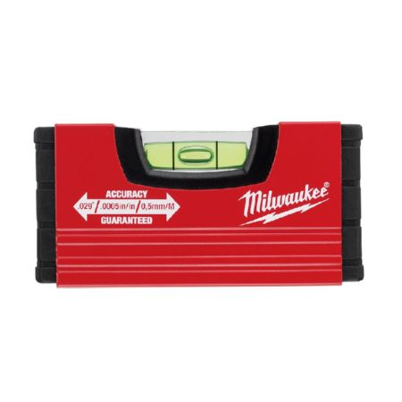 MILWAUKEE NIVEL DE BURBUJA 10 CM
